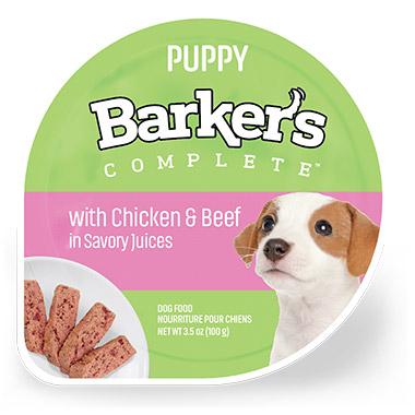 Puppy Chicken & Beef in Savory Juices