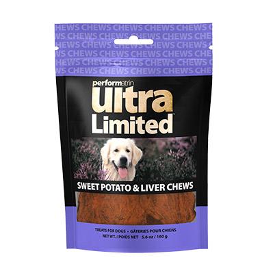 Limited Sweet Potato & Liver Chews