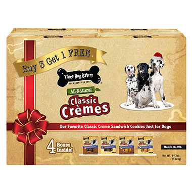 Classic Cremes Holiday 4 Pack