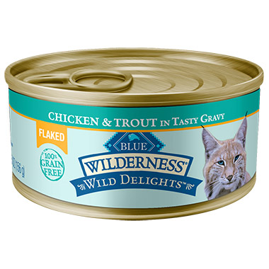 Wilderness Wild Delights Flaked Adult Chicken & Trout