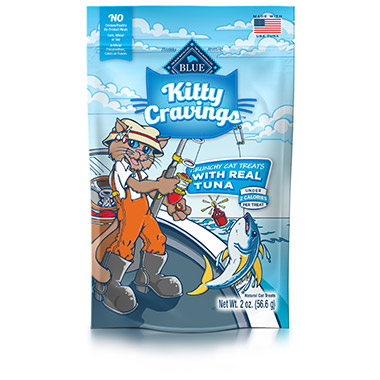 Kitty Cravings Crunchy with Real Tuna