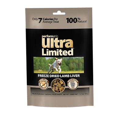 Limited Freeze Dried Lamb Liver Treats