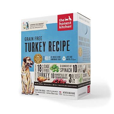 Embark, Turkey and Grain Free Diet