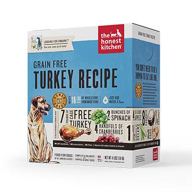 Embark, Turkey and Grain Free Diet