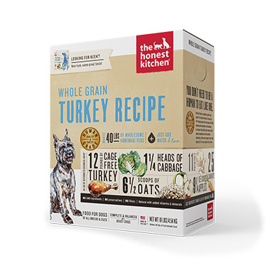 Keen, Turkey and Organic Grains Diet