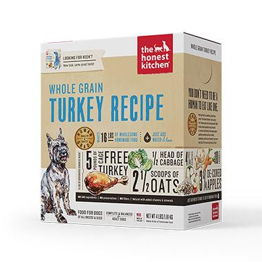Keen, Turkey and Organic Grains Diet