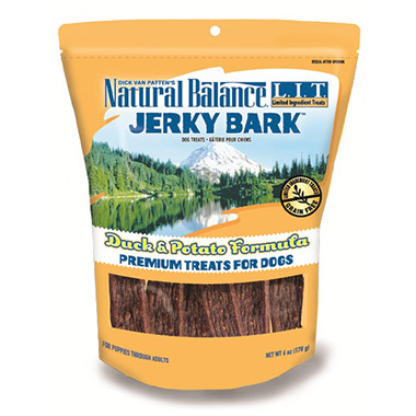 L.I.T. Jerky Bark Duck & Potato Formula