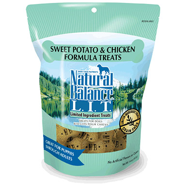 L.I.T. Limited Ingredient Treats Sweet Potato & Chicken Formula