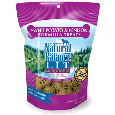 L.I.T. Limited Ingredient Treats Sweet Potato & Venison Formula