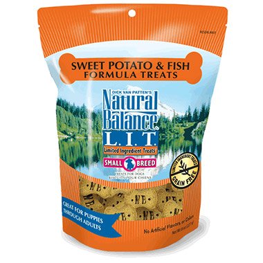L.I.T. Limited Ingredient Treats Small Breed Sweet Potato & Fish Formula