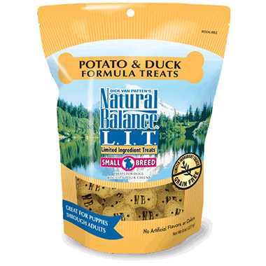 L.I.T. Limited Ingredient Treats Small Breed Potato & Duck Formula