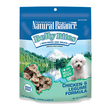 Belly Bites Chicken & Legume Formula Dog Treats
