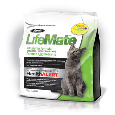 pH Indicating Clumping Cat Litter