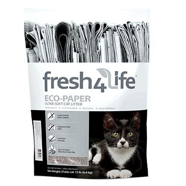 Ultra Soft Recycled Paper Litter