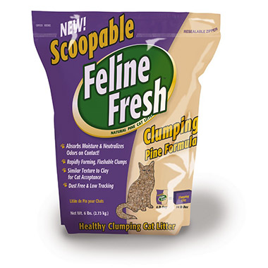 Clumping Pine Cat Litter