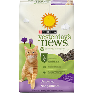 Softer Texture Unscented Cat Litter
