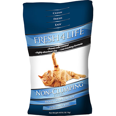 Non-Clumping Clay Litter