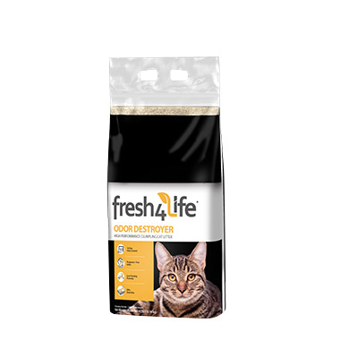Odor Destroyer High Performance Clumping Cat Litter Fcm00936