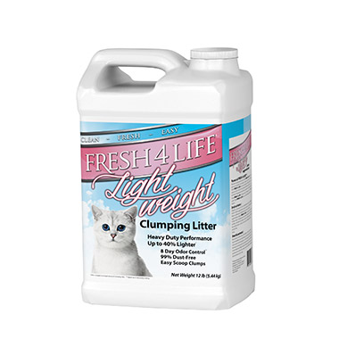 Lightweight Scoopable Unscented Cat Litter