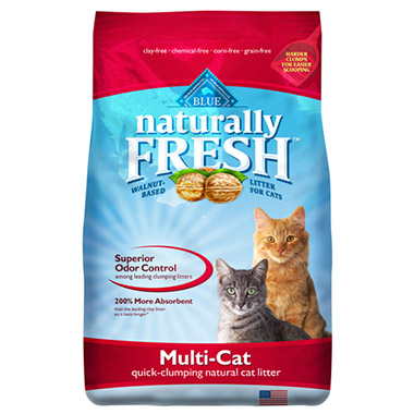 Naturally Fresh Multi-Cat Quick-Clumping Formula