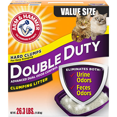 Double Duty Cat Litter Scented