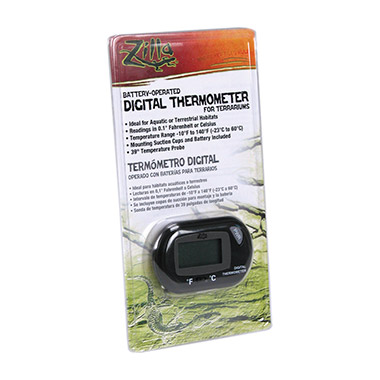 Battery-Operated Digital Thermometer