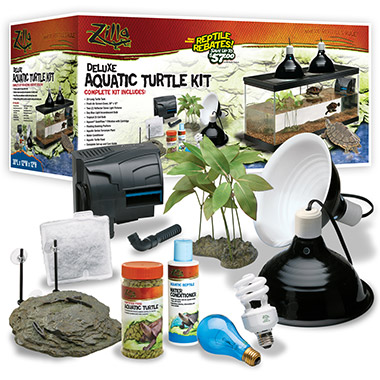 Deluxe Aquatic Turtle Kit