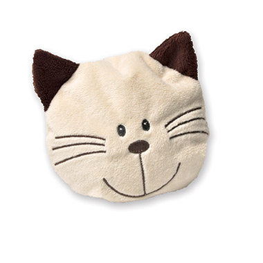 Large Cat Face Shaped Toy Filled with Catnip