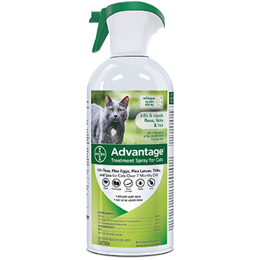 Flea and Tick Treatment Spray for Cats