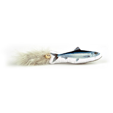 Sardine Fish with Feathers & Bell