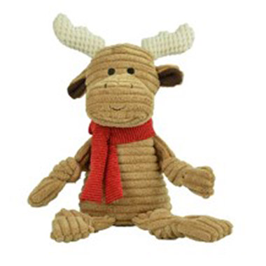 Knotted Holiday Toy Moose