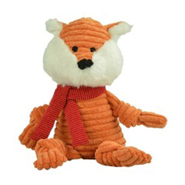 Knotted Holiday Toy Fox
