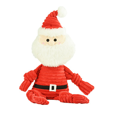Knotted Holiday Toy Santa