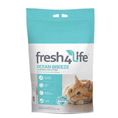 Ocean Breeze Clumping Cat Litter
