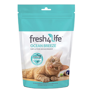 Ocean Breeze Cat Litter Deodorizer