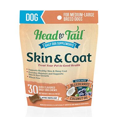 Skin & Coat for Medium-Large Dogs