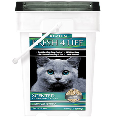 Scented Clumping Litter