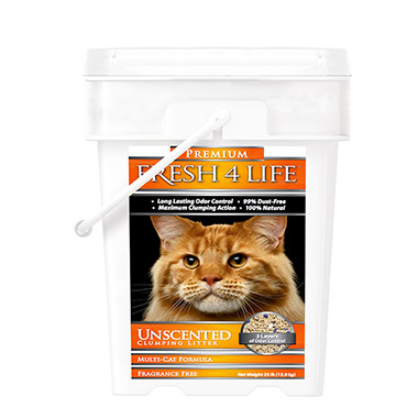 Unscented Clumping Litter