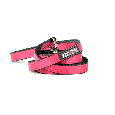 "Nylon Leash - 1"" Pink"