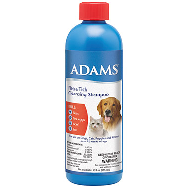 Flea & Tick Cleansing Shampoo for Dogs & Cats