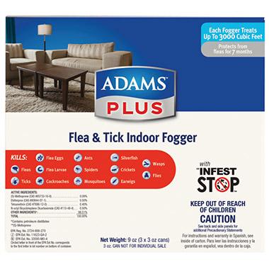 Flea & Tick Indoor Fogger