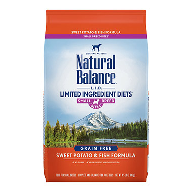 L.I.D. Limited Ingredient Diets Sweet Potato & Fish Formula Small Breed Bites