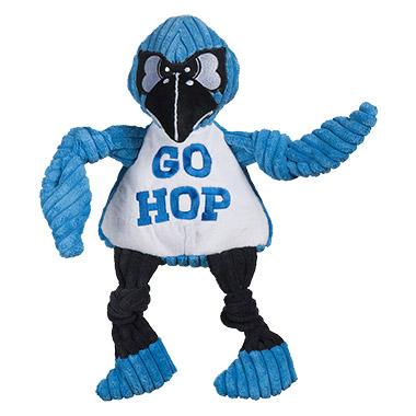 2890bf0dcb6d John Hopkins Blue Jay Plush Durable Knottie