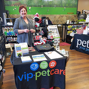 VIP Petcare booth at Pet Valu