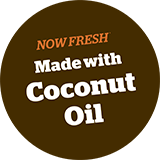 Now Fresh Made with Coconut Oil