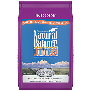 Indoor Ultra With Chicken Meal & Salmon Meal