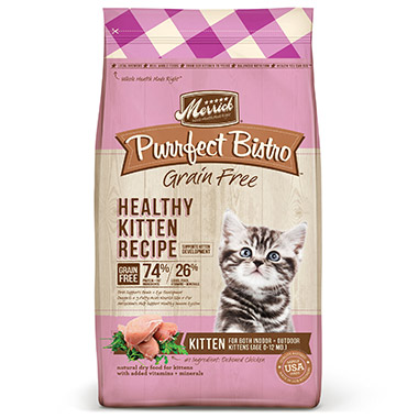 Purrfect Bistro Grain Free Healthy Kitten Food