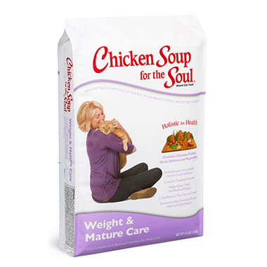 For The Cat Lover's Soul Weight & Mature Care Cat Formula