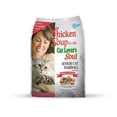 For the Cat Lover's Soul Senior Cat Hairball Formula