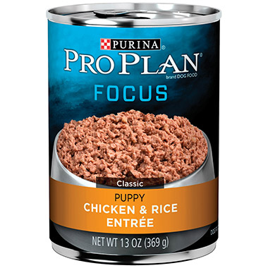 Focus Puppy Chicken & Rice Entree Classic